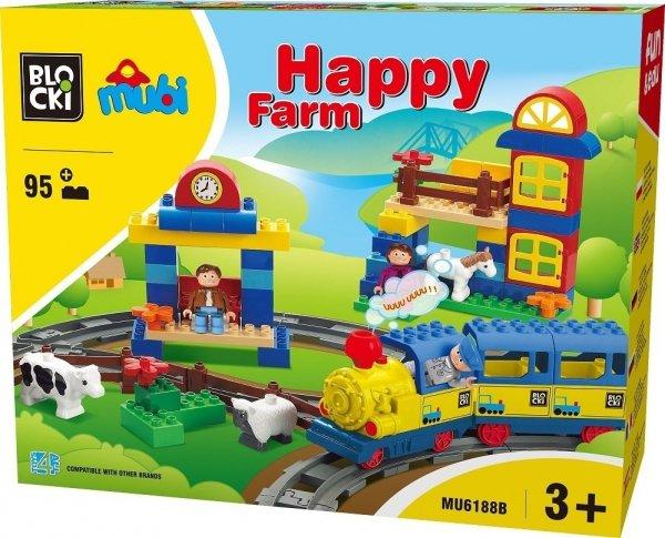 Klocki Blocki Mubi Happy Farm 95el.