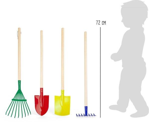 SMALL FOOT Zestaw Małego Ogrodnika - Zabawki Ogrodowe
