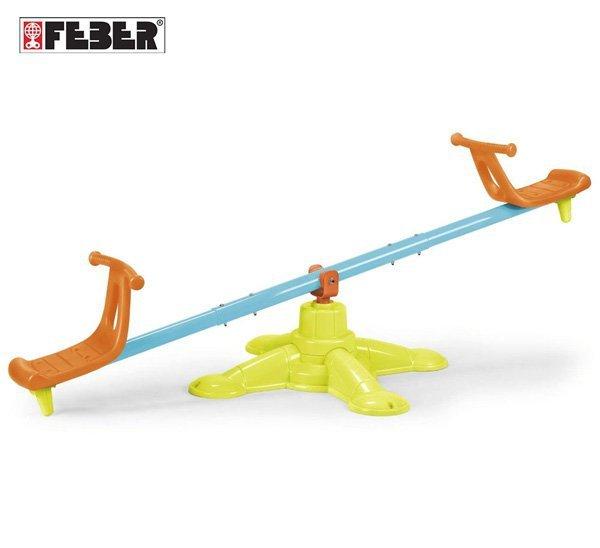 FEBER Huśtawka Równoważna Karuzela Duo Swing 2w1