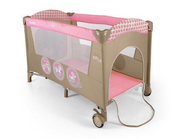 Milly Mally Łóżeczko Mirage Pink Toys (0278, Milly Mally)