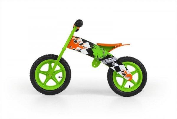 Milly Mally Rowerek Biegowy Flip Green (0302)