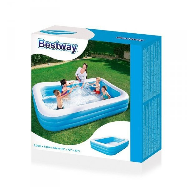 Bestway 54009 BASEN DMUCHANY FAMILIJNY 305 x 183 x 56