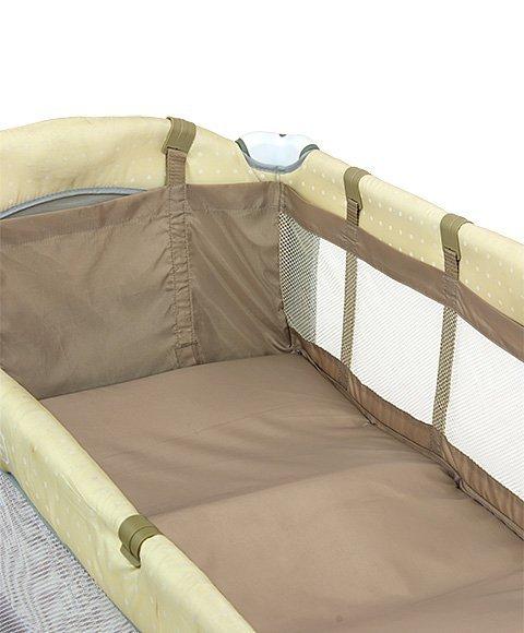Podwieszenie do łóżeczka 120*60 Beż (1124, Milly Mally)