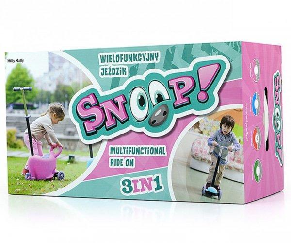 Hulajnoga/Jeździk SNOOP! 3w1 PINK