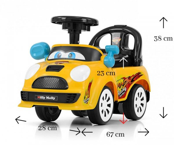 Milly Mally  Pojazd Joy Yellow