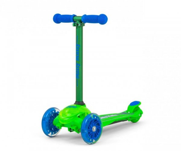 Milly Mally Scooter Zapp Green