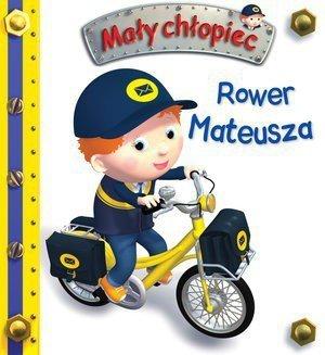Rower Mateusza. Mały chłopiec