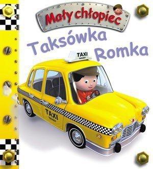 Taksówka Romka. Mały chłopiec