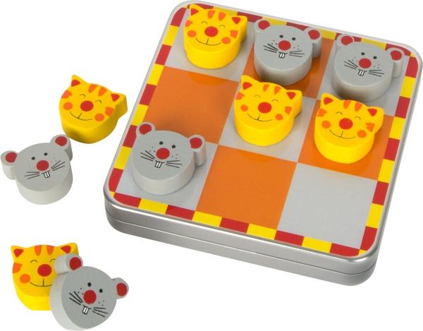 SMALL FOOT gra Kółko i Krzyżyk - gra magnetyczna