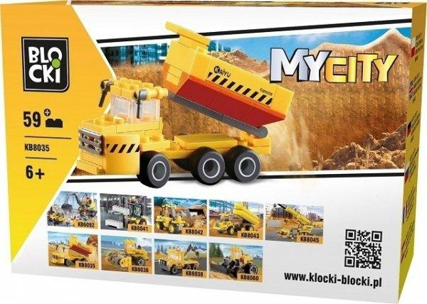 Klocki Blocki MyCity Wywrotka 59el.