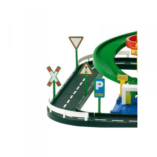 Wader QT 5-poziomowy Wielki Tor Garaż Parking + 3 Auta