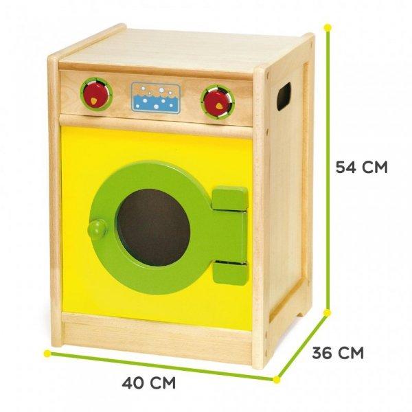 Drewniana Pralka dla dzieci AGD Viga Toys