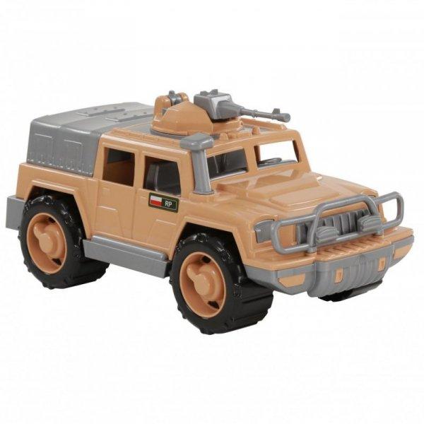 Samochód Jeep Obrońca Safari z karabinem Wader Quality Toys