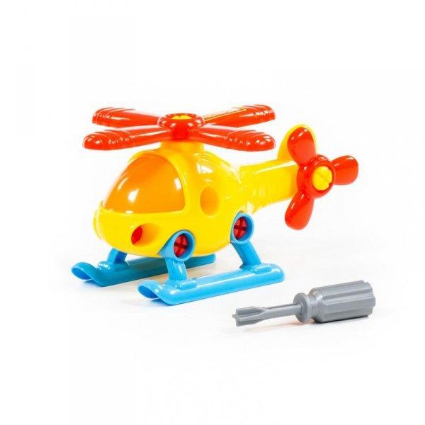 Kolorowy helikopter ze śrubokretem Wader