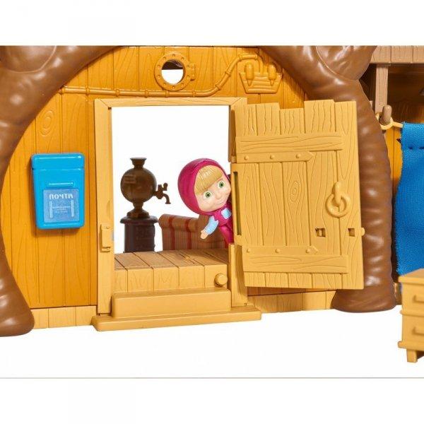 Simba Masza i Niedźwiedź Dwupoziomowy dom Niedźwiedzia z akcesoriami