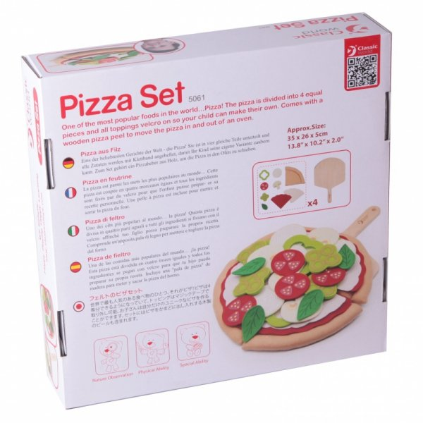 Zestaw do Pizzy Dla dzieci Classic World