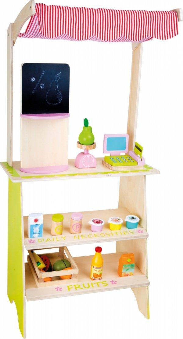 SMALL FOOT Stoisko Handlowe - zabawka dla dzieci