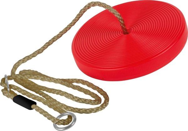 SMALL FOOT Huśtawka okrągła dysk (czerwona)