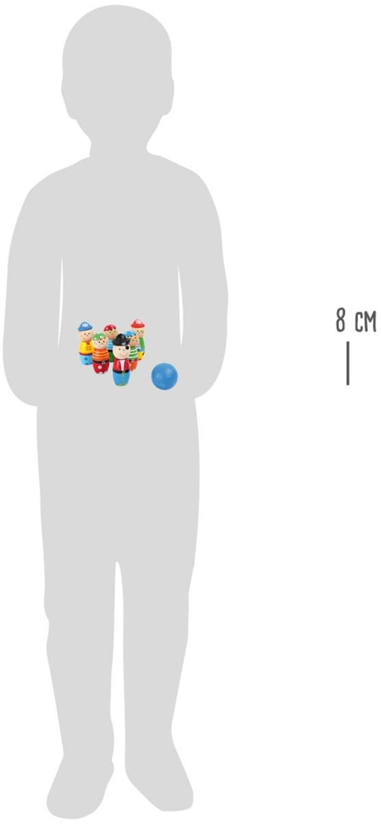 "SMALL FOOT Skittles ""Pirate"" - kręgle (piraci)"