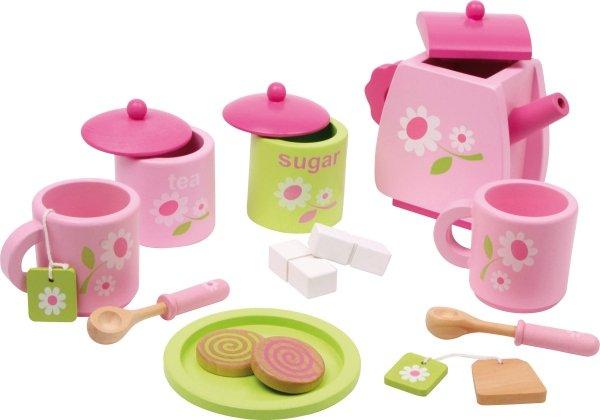 SMALL FOOT Różowy Zestaw do Herbaty dla Dzieci