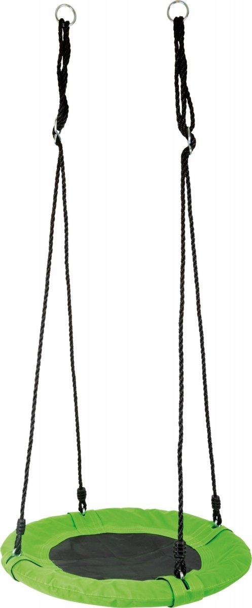 SMALL FOOT Huśtawka okrągła siatka (zielona)