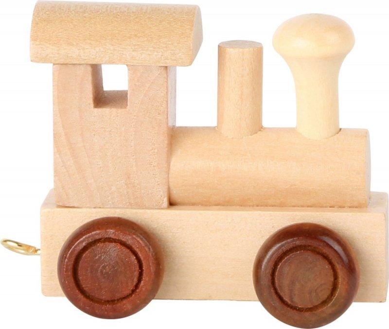 SMALL FOOT Drewniana Lokomotywa dla dzieci