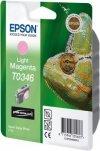 Atrament do Epson Stylus Photo 2100 - jasno purpurowy T0346