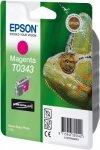 Atrament do Epson Stylus Photo 2100 - purpurowy T0343