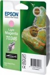 Atrament do Epson Stylus Photo 2100 - jasno purpurowy T0346