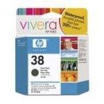 Wkład atramentowy HP No 38 black Vivera pigmentowy do Photosmart A516/618/717/436/B8850/B9180 | 27m; 850 zdjęćl | C9412A