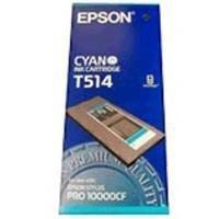 Atrament pigmentowy cyan 500ml do Epson stylus Pro 10000CF C13T514011