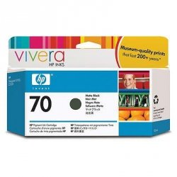 Tusz HP 70 matte black (130ml) Vivera C9448A