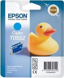 Wkład cyan do Epson Stylus Photo R240/245RX420/425/RX520 T0552