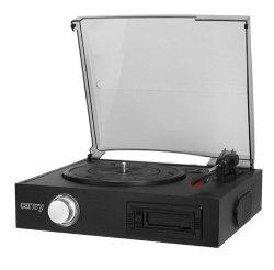 Camry Gramofon z odtwarzaczem kaset magnetofonowych CR1154