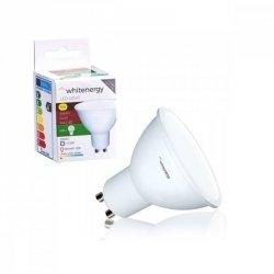 Whitenergy Żarówka LED MR16 GU10 5W 346lm ciepła biała mleczna