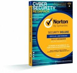 Symantec Norton Security 3.0 DELUXE + WiFi Privacy 1.0 PL 1Użytkownik 5Urządzeń 1Rok 21386356