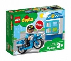 LEGO Polska Klocki DUPLO Motocykl policyjny
