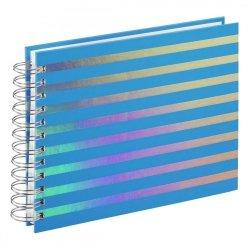 Hama Album spiralny Flashy 24x17cm 50 białych stron, niebieski