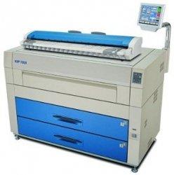 Cyfrowa kopiarka wielkoformatowa KIP 7600 skaner mono (2 rolki)