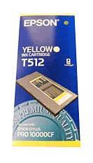 Atrament pigmentowy yellow (Żółty) 500ml do Epson stylus Pro 10000CF C13T512011