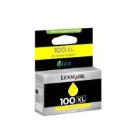 Wkład atram. Lexmark No 100XL yellow | 600str | seria S/ seria Pro