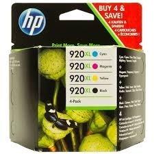Tusz HP 920XL CMYK Ink Cartridge Combo Pack C2N92AE