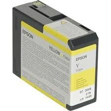 Epson Atrament/yellow 80ml f Stylus PRO3800