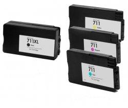 Zestaw tuszy do HP Designjet T120, T520 CMYK CZ130/1/2/3