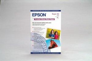 Papier Epson Premium Glossy Paper A3+ 20 arkuszy 250g/m2 S041316