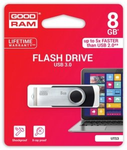 GOODRAM TWISTER BLACK 8GB USB3.0