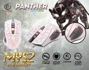 Rebeltec Gamingowa mysz optyczna USB PANTHER