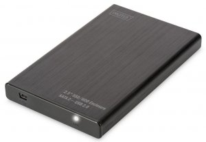 Digitus Obudowa zewnętrzna USB 2.0 na dysk SSD/HDD 2.5 SATA II, 9.5/7.5mm, aluminiowa
