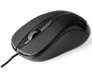 Media-Tech Mysz optyczna Plano czarna