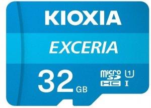 Kioxia Karta pamięci microSD 32GB M203 UHS-I U1 adapter Exceria